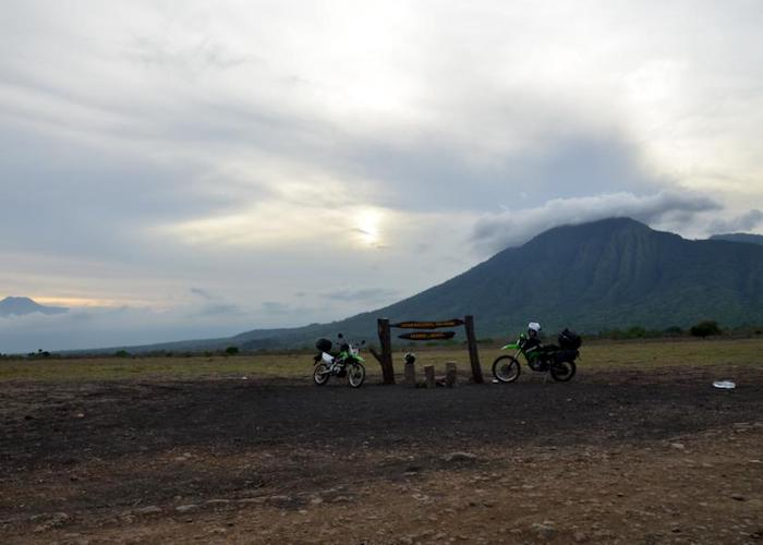 The volcanoes and forests of Indonesia
