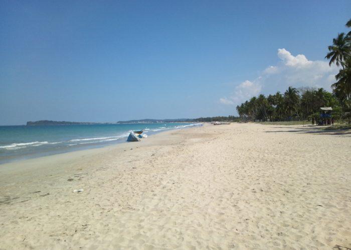 Uppveli Beach in Trincomalee Sri Lanka