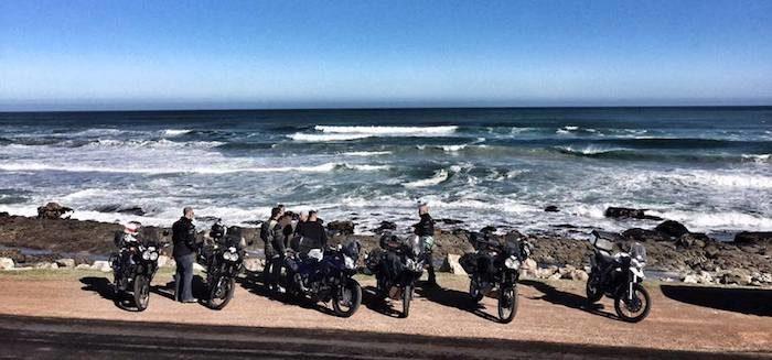 bikers trip to cape to kalahari