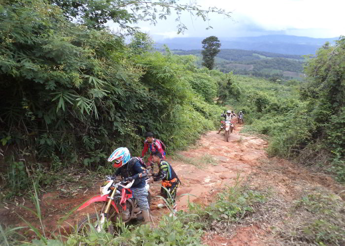 Off-roading around Phu Rua | Thailand