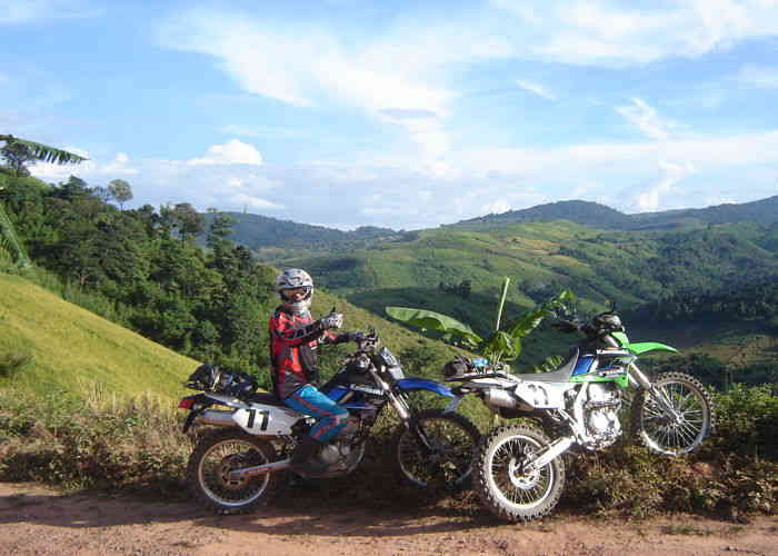 thailand tour on dirtbike