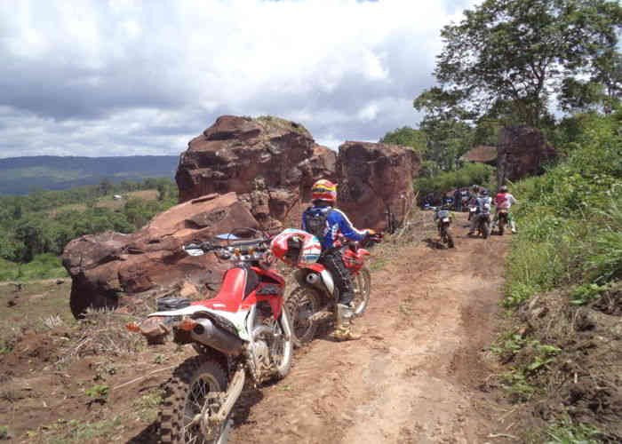 Offroad tour to the city of Nan Thailand