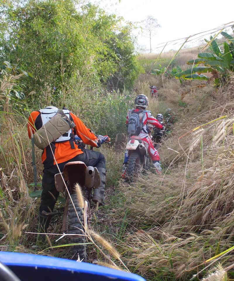 off road tour to the city of nan thailand