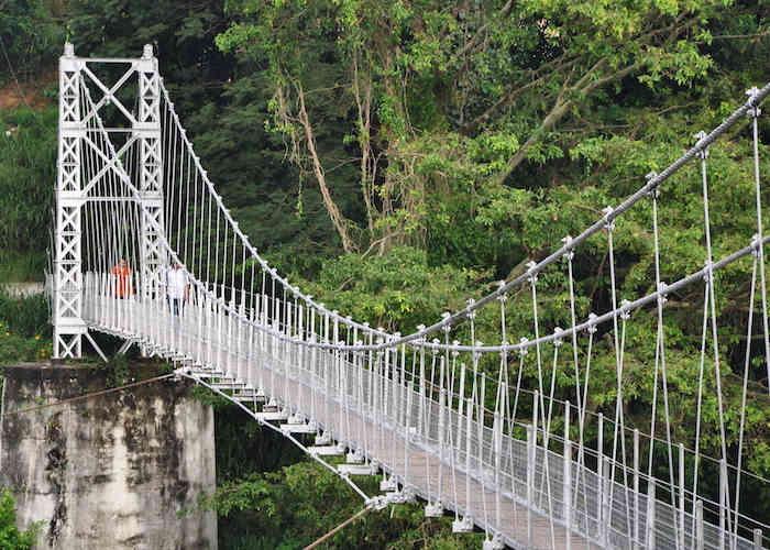 Halloluwa Foot Bridge Hanging Bridge