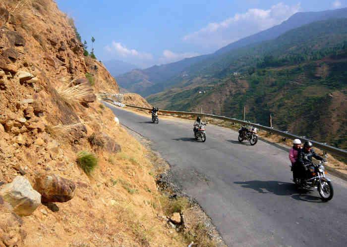 motobike trip to bhutan