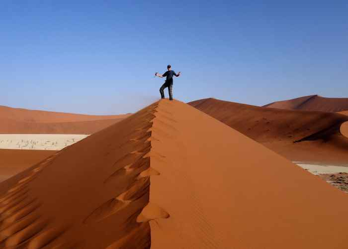 sand deserts in africa