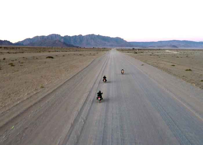 motorbike tour to africa's Great Rift Valley