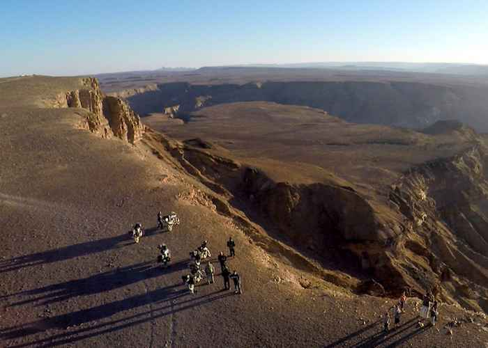 motorbiker bikers trip to Africa's Great Rift Valley