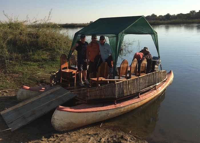 boat in africa's river