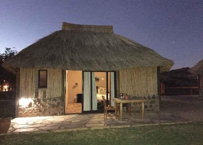 hut in africa
