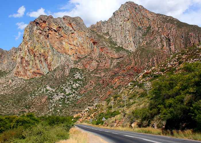 Route 62 between Montagu and Ashton