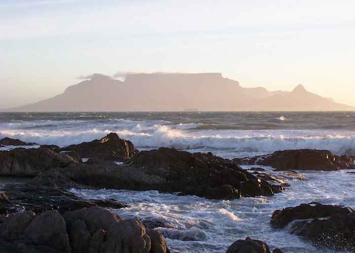 South Africa View from Bloubergstrand