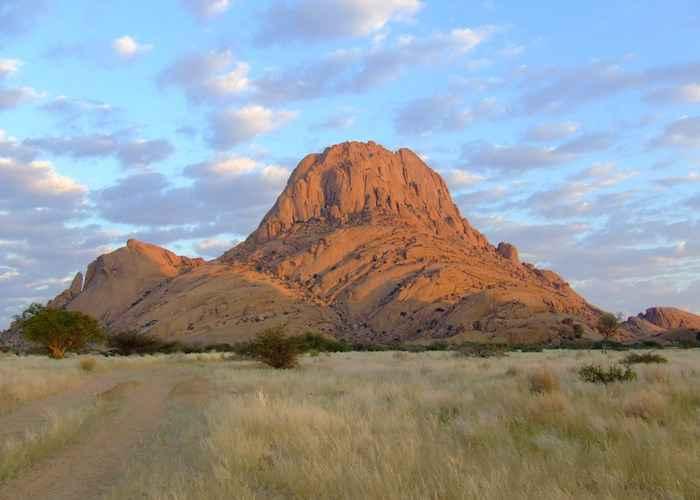 Spitzkoppe Peak in Namibia