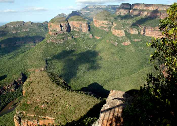 Three Rondavels Blyde River Canyon Nature Reserve Mpumalanga South Africa